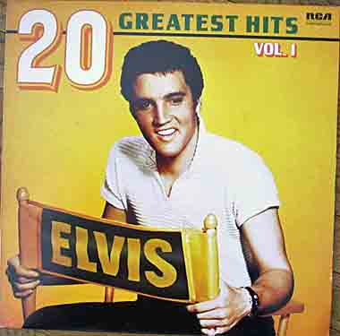 Elvis Presley 20 Greatest Hits RCA 5115