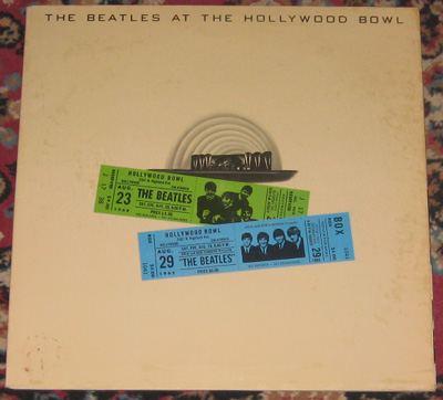 LP, Beatles, The Beatles At The Hollywood Bowl