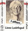 Lissa Ladefoged I aften Last Resort Records LRMC005