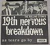 Rolling Stones 19Th Nervous Breakdown Decca. F.12331