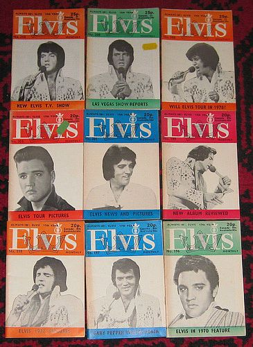 Elvis Presley, 69 STK ELVIS MONTHLY
