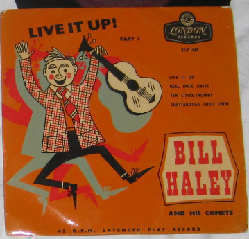 EP, Bill Haley And His Comets, Live It Up-Part 1