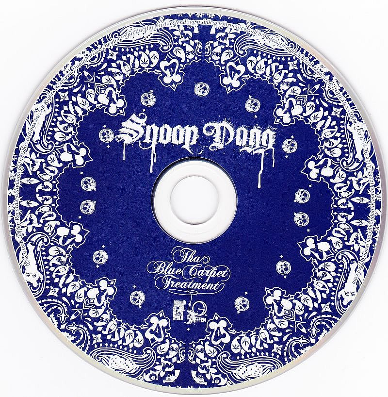 CD, Snoop Dogg, Tha Blue Carpet Treatment