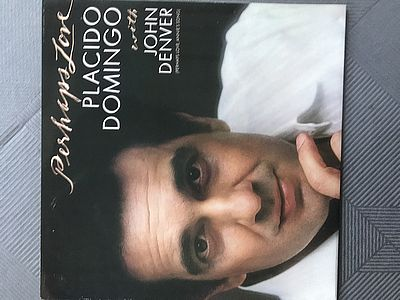 Placido Domingo og John Denver Perhaps love CBS 73592