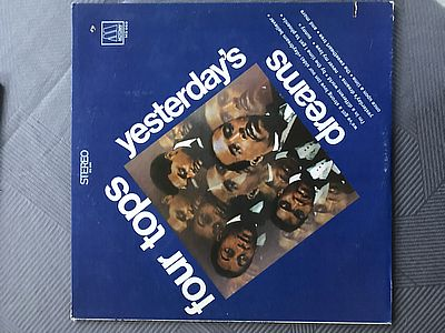 Four Tops Yesterdays dreams Motown MS 669