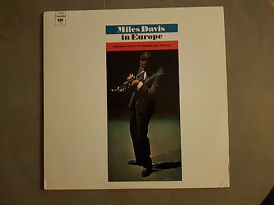 Miles Davis In Europe Columbia PC 8983