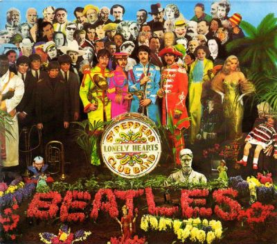 Beatles Sgt. Pepper´s Lonely Hearts Club Band Parlophone  CDP 7 46442 2
